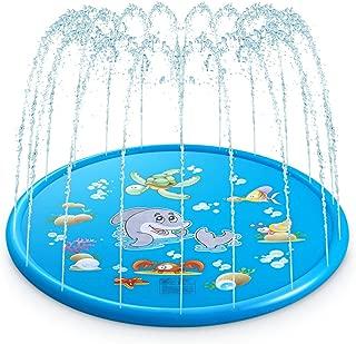 AMAES Sprinkler and Splash Play Mat, 68