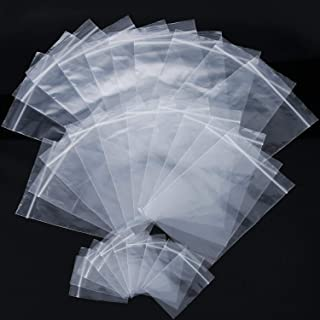 "25 6/""x6/"" 155mm x 160mm Clear Cellophane Greetings Card Peel /& Seal Display Bags"