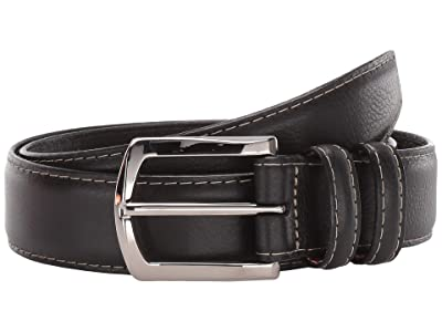 Torino Leather Co. 35 mm Italian Glazed Milled Calf (Black) Men
