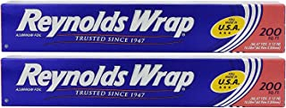 2packs Reynolds Wrap Aluminum Foil 200sq