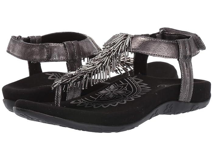Aetrex  Portia (Pewter) Womens Sandals