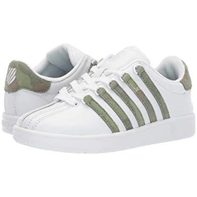 K-Swiss Classic VNtm (Little Kid) (White/Camo) Athletic Shoes