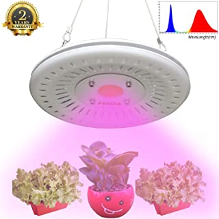 UFO LED Grow Light Waterproof, Premium Full Spectrum Plant Grow Lamp, 300W HPS Grow Lights Equivalent, Smart & Silent & Longevity for Indoor Garden Plants Growing