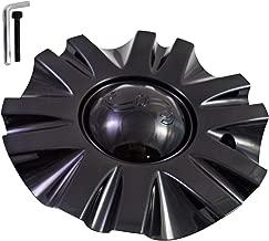 SSC/Sears Gloss Black Custom Wheel Center Cap # MCD8243YA01 / SJ106-19 (4 CAPS)