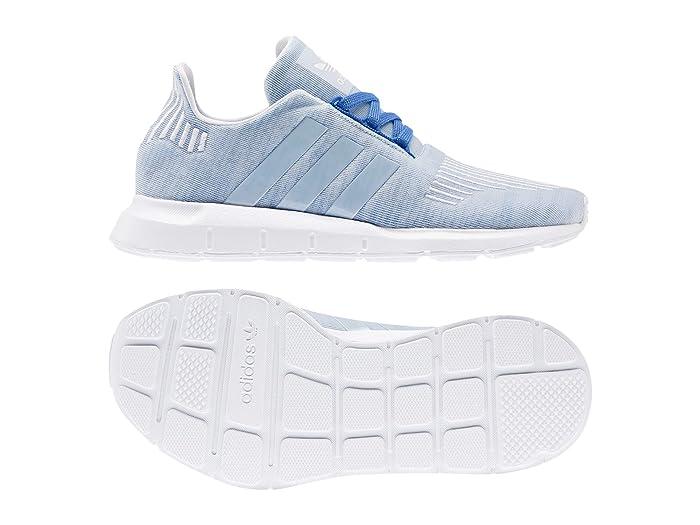 adidas Originals Kids  Swift Run J (Big Kid) (Blue/White) Boys Shoes