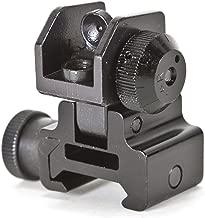 Global Military Gear AR15/M4 Rear Flip-up Sight Rifle Accessory