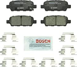Bosch BC905 QuietCast Premium سرامیک دیسک ترمز پد برای: Infiniti: (EX، FX، G، JX، M، Q، QX، X)؛ نیسان 350Z، 370Z، آلتیما، جک، برگ، ماکسیما، مورانو، پاتفینر، تلاش، رگی، سنترا، X-Trail + بیشتر، عقب