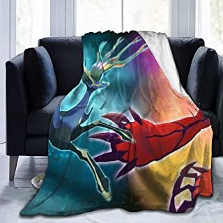 Ntense Symphonic Metal Cover of Battle Xerneas Yveltal Zygarde Ultra-Soft Micro Fleece Blanket Throw Super Soft Hypoallergenic Plush Bed Couch Living Room