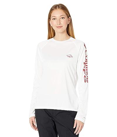 Columbia College Arkansas Razorbacks Collegiate Tidal Long Sleeve Shirt Women