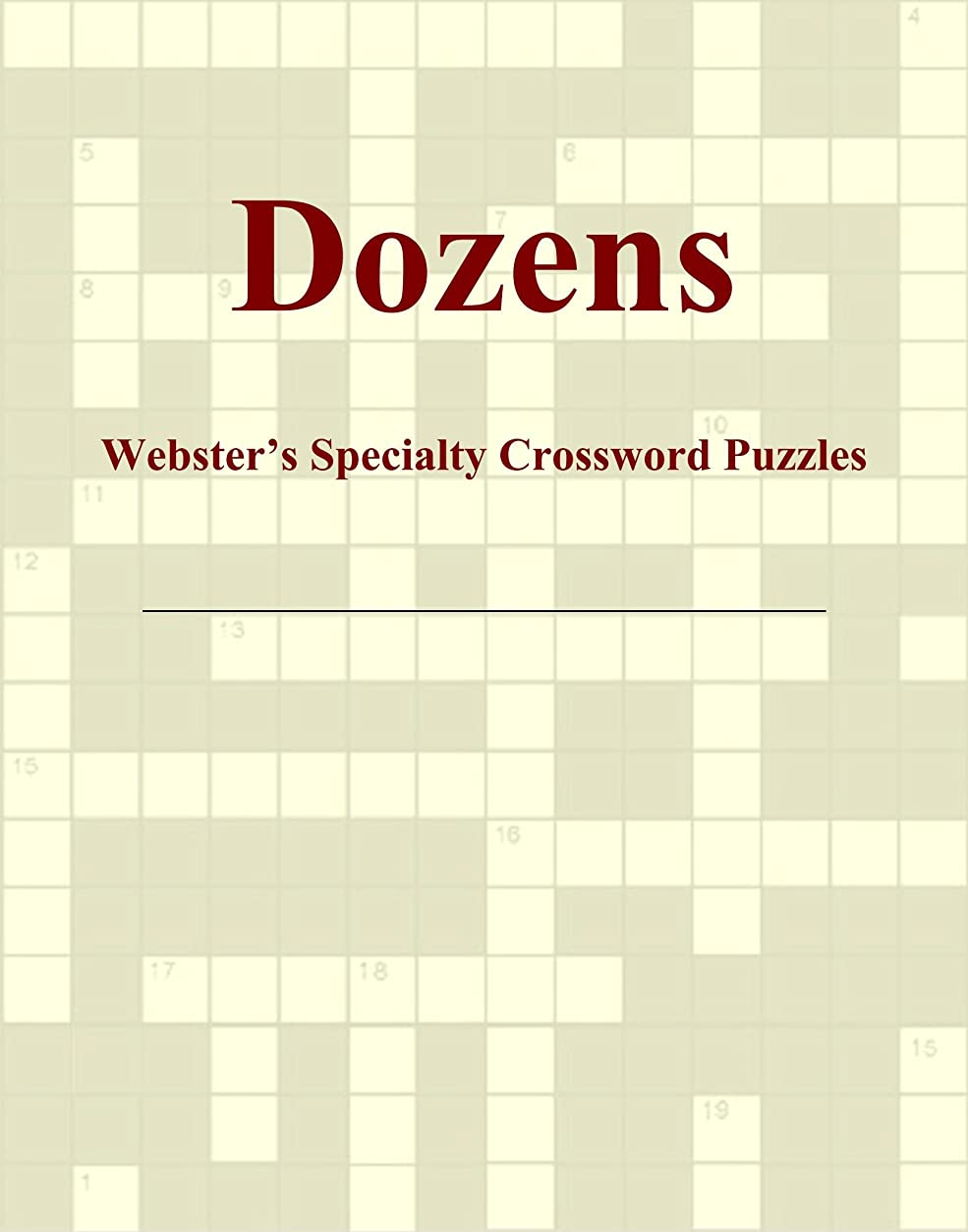 溶岩いらいらさせるホバーDozens - Webster's Specialty Crossword Puzzles