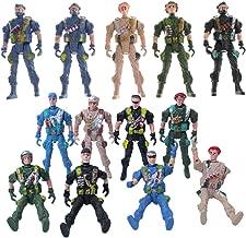 1pc 9cm parachutiste parachutistes soldats miniatures figurines militaires jouet