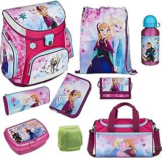 Disney die Eiskönigin Anna & ELSA Schulranzen-Set 9-TLG. Scooli Campus Fit Frozen Magic mit Sporttasche Federmappe und Reg...