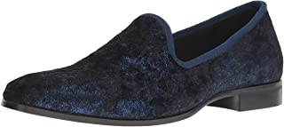 STACY ADAMS Men's Sultan Velour Slip-on Loafer