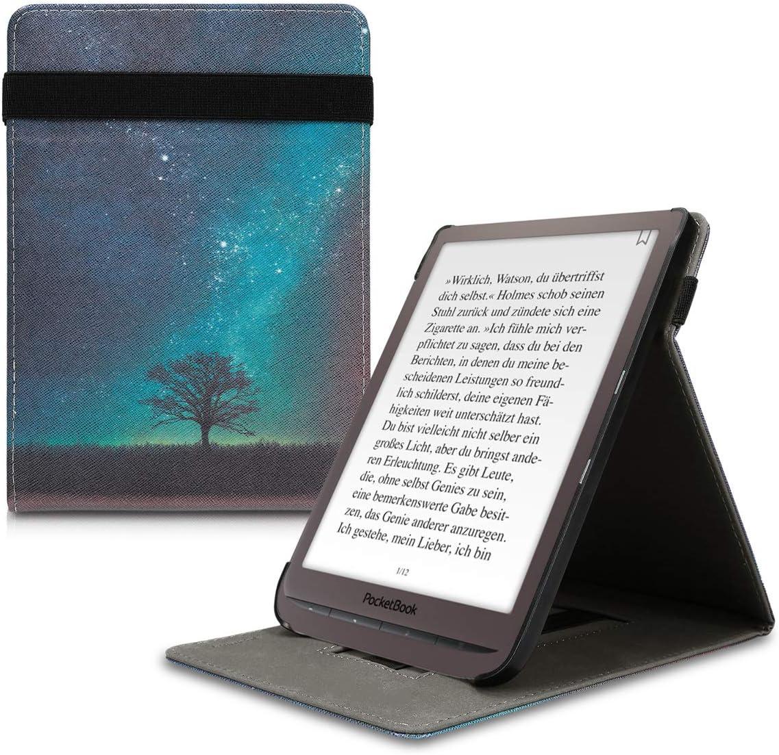 Carcasa para e-Book con Soporte kwmobile Funda Compatible con Pocketbook InkPad 3//3 Pro