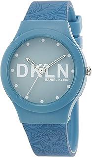 DANIEL KLEIN DKLN Plastic Case Silicon Band Ladies Wrist Watch - DK.1.12436-2