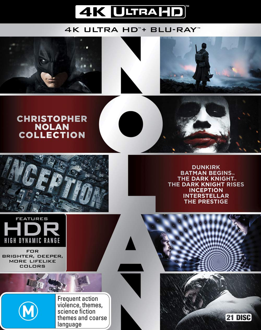 service Nolan 4K Easy-to-use Collection
