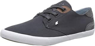 Fresh Box Boxfresh Stern Navy White Waxed Canvas Mens Trainers Shoes