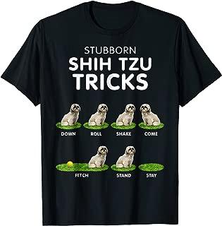 Funny Shih Tzu Trick Tshirt for men, women & kids dog lover