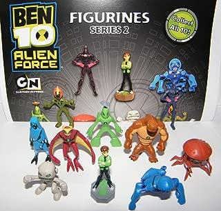 Ben 10 Mini Figure - Alien Force Set of 11 Vending Toy Figures