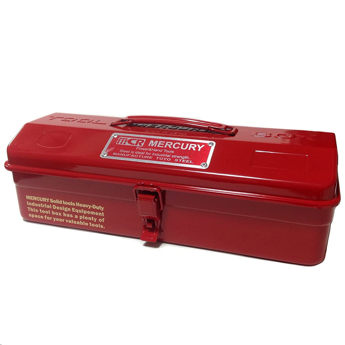 回復珍しい安定MERCURY マーキュリー アメリカン ツールボックス (レッド) 工具箱 収納ボックス ツールケース アメリカン雑貨 アメリカ 雑貨 世田谷ベース DIY グッズ