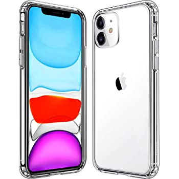 Mkeke Compatible with iPhone 11 Case, Clear iPhone 11 Cases for iPhone 11 6.1 Inch