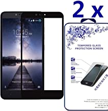 [2-Pack] [ ZTE Max XL N9560 ] HD Tempered Glass Screen Protector Clear Ballistic LCD Screen Cover Guard Premium HD Shield for ZTE Max XL N9560