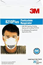 Best 3m 8210ppb1 a na plus particulate respirator Reviews