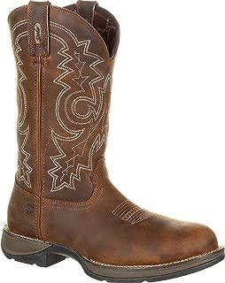 Durango Men's Rebel Waterproof Western Work Boot Steel Toe - Ddb0133