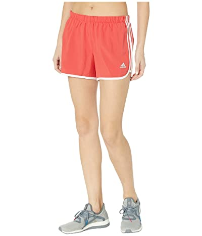 adidas M20 4 Shorts (Glory Red/White) Women