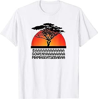 lion king song shirt
