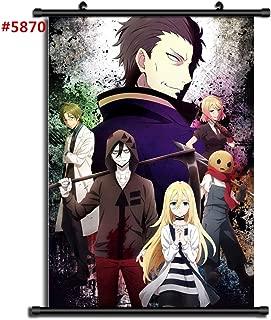 unbrand Satsuriku No Tenshi Angels of Death Anime Manga Wall Poster Scroll Room Home Decoration Wall Art