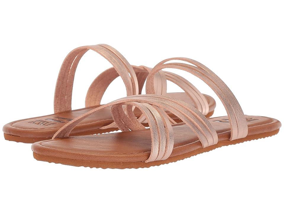 Billabong Sandy Toes (Rose Gold) Women