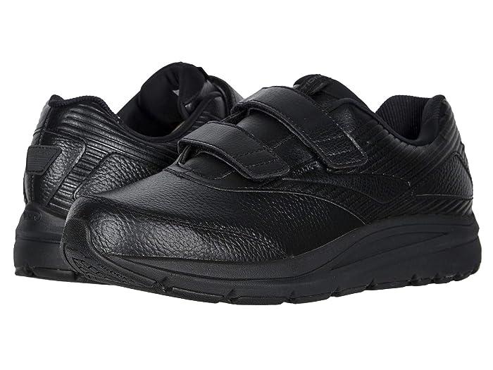 Brooks  Addictiontm Walker V-Strap (Black/Black) Mens Walking Shoes