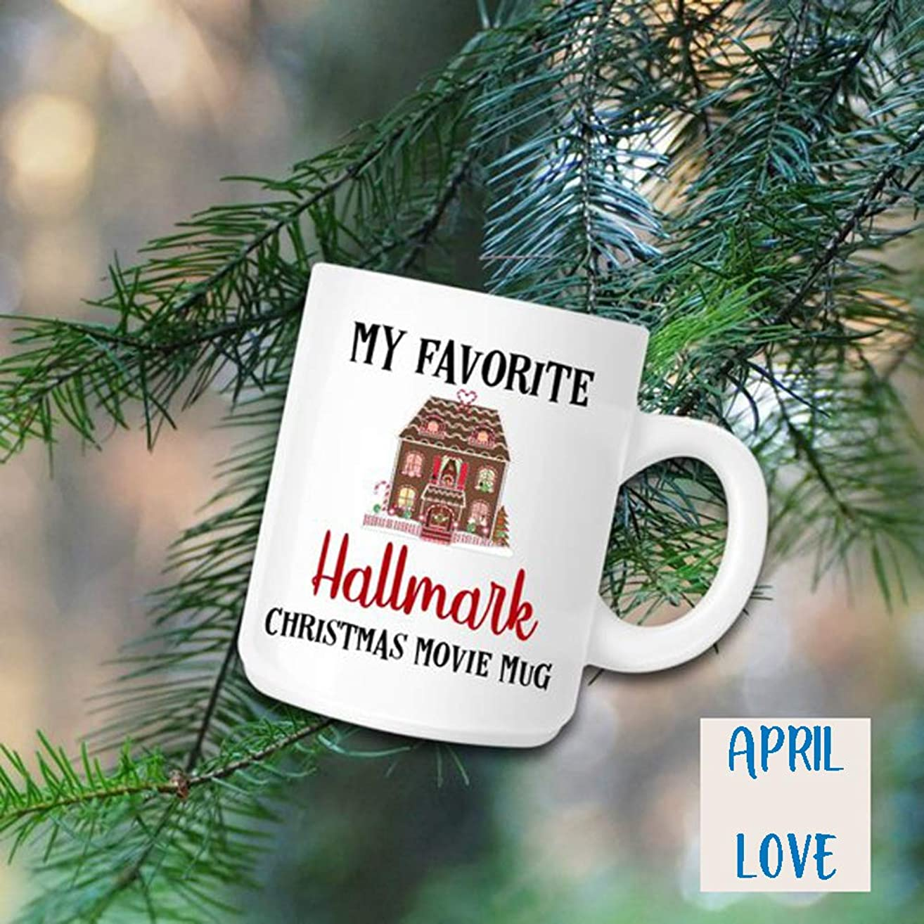 Best quality Hallmark Inspired Christmas Mug - Christmas Fave Movie Mug - Christmas Mug - Movie Watching Mug - Gift For Her - Best Friend Mug - Coffee