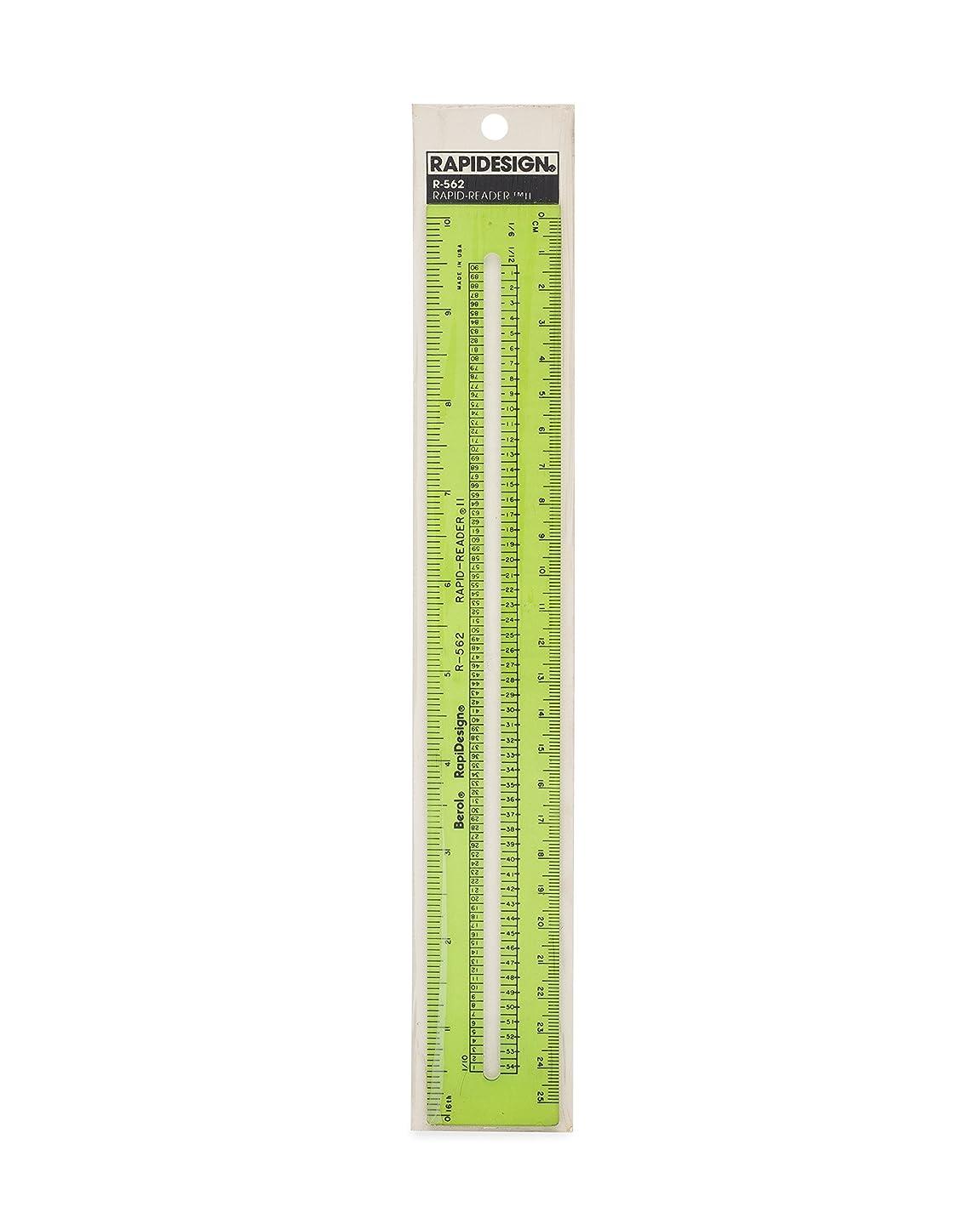 Rapidesign Rapid-Reader II Ruler, 1 Each (R562)