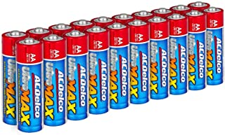 ACDelco AA Batteries UltraMAX Premium Alkaline Battery, 20-Count