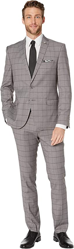 Grey Windowpane