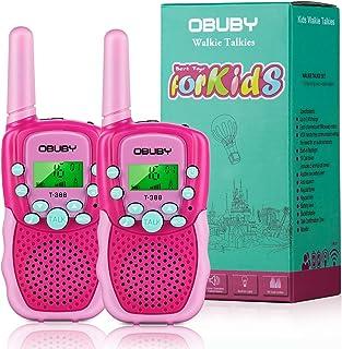 Obuby Walkie Talkies for Kids, 22 Channels 2 Way Radio...