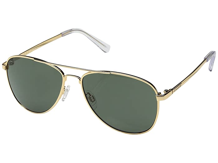 VonZipper Farva (Gold Gloss/Vintage Grey) Fashion Sunglasses