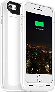 Mophie Juice Pack Plus - Protective Mobile Battery Pack Case for iPhone 6/6s – White (Renewed)