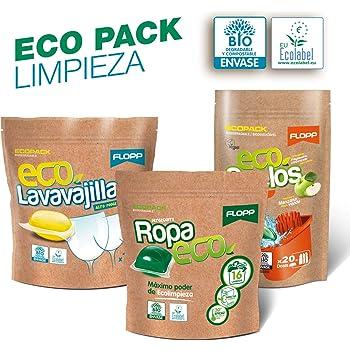 Flopp - Detergente Ropa con Suavizante Estuche (40 cápsulas ...