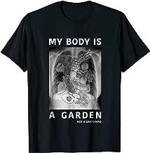 My Body Is A Garden Not A Graveyard - Vegan Men Women Tshirt