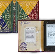-Kindle Paperwhite and Kindle eReader Case with Harry Potter Themed Book of Spells Cover (Compatible with New Paperwhite 2018)