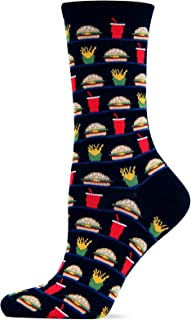 Women's Food and Drink Novelty Casual Crew Socks