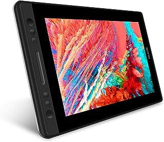HUION Kamvas Pro13 液晶タブレットGT-133PRO傾き検知機能付き 筆圧8192充電不要ペン アンチグレアガラス搭載 13.3インチフルHD液タブ