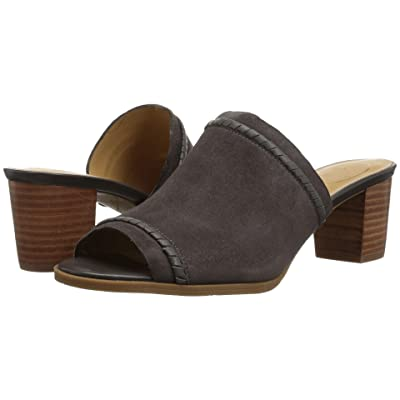 Jack Rogers Campbell (Charcoal Suede) Women