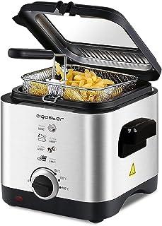 Aigostar Fries 30IZD - Freidora compacta de 1,5 litros,