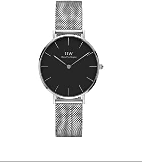 Daniel Wellington Petite Sterling Orologio Donna, 32mm, in Maglia