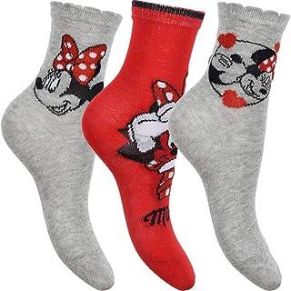 Disney, Pack de 3 calcetines de Minnie Mouse.
