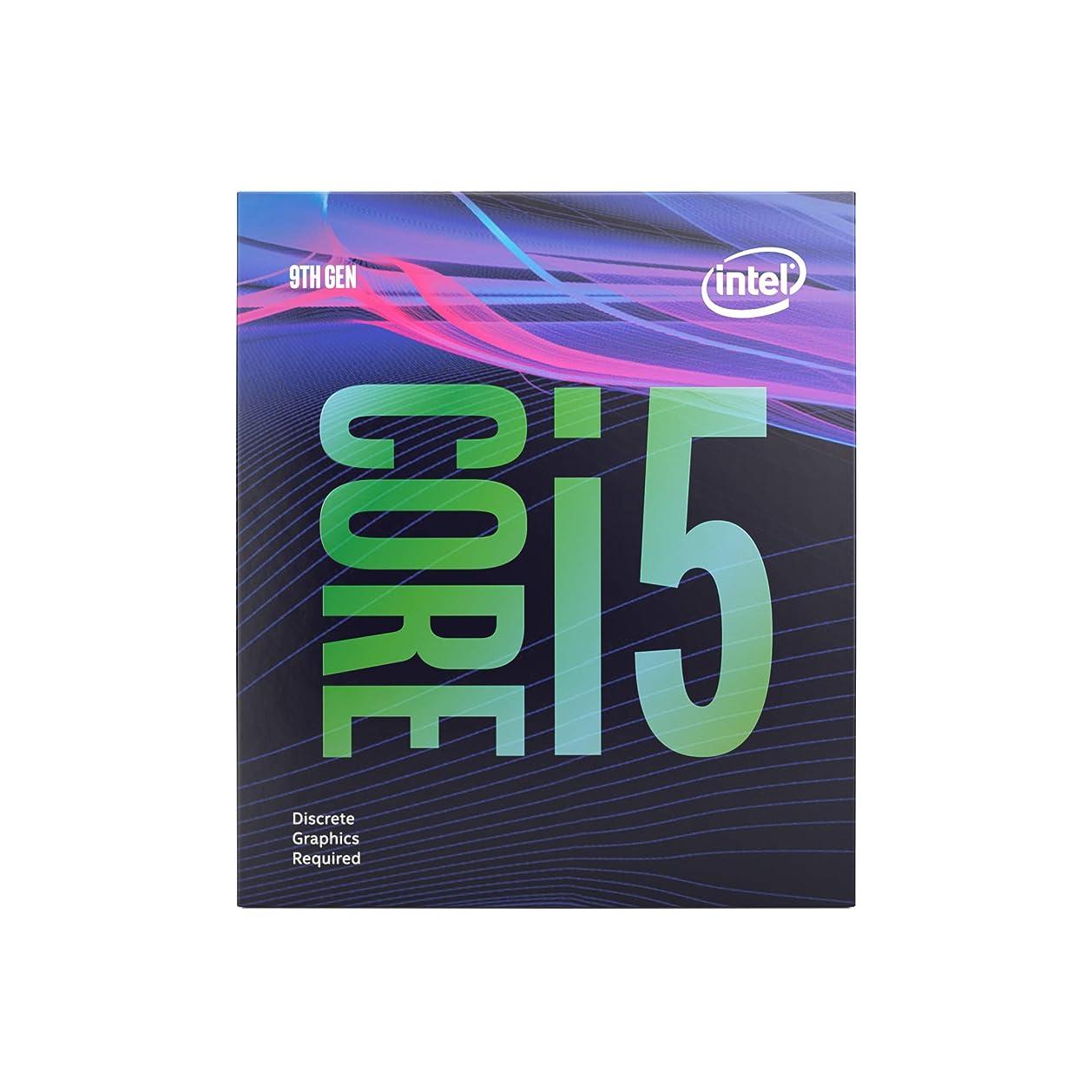 処方する計り知れない青INTEL インテル Core i5 9400F 6コア / 9MBキャッシュ / LGA1151 CPU BX80684I59400F 【BOX】【日本正規流通品】